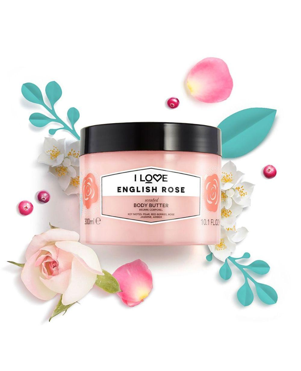 I Love Body Butter English Rose 300ml