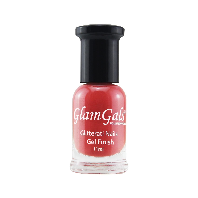 GLAMGALS HOLLYWOOD-U.S.A Gel Finished Glitterati Nails 11ML Blush Pink
