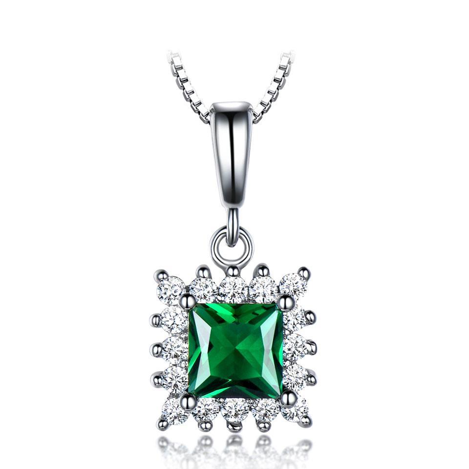 Chic 925 Sliver Wedding Necklace Necklace 11