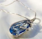 The Mysterious Blueish Necklace Necklace 14