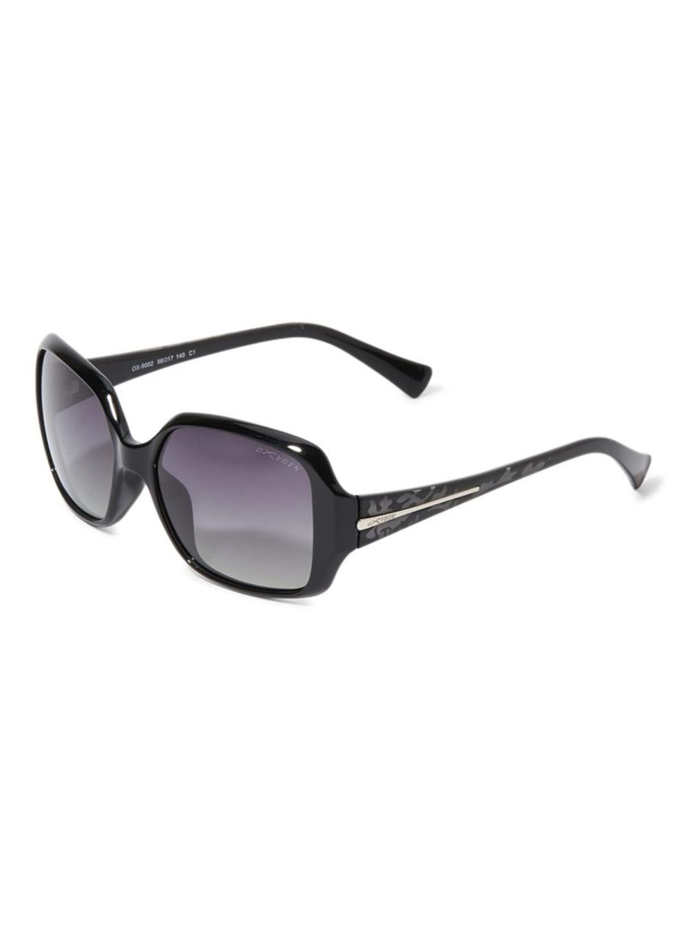 OXYGEN Women's Designed Rectagular Frame UV protection Sunglasses OX9002-C1