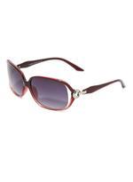 OXYGEN Women's Rectagular Frame UV protection Sunglasses