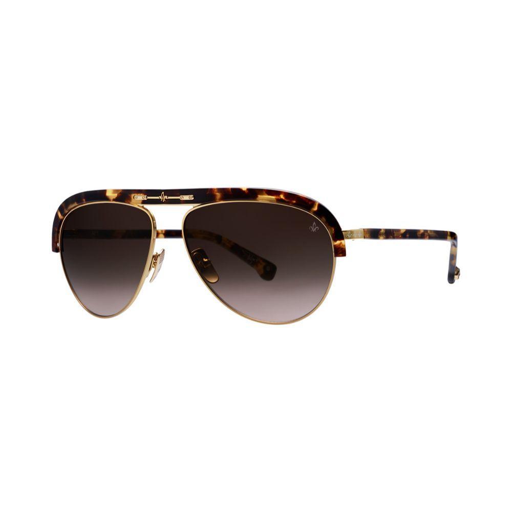 PHILIPPE V N1L Sunglasses Unisex Eyewear Tortoise/Brown frame