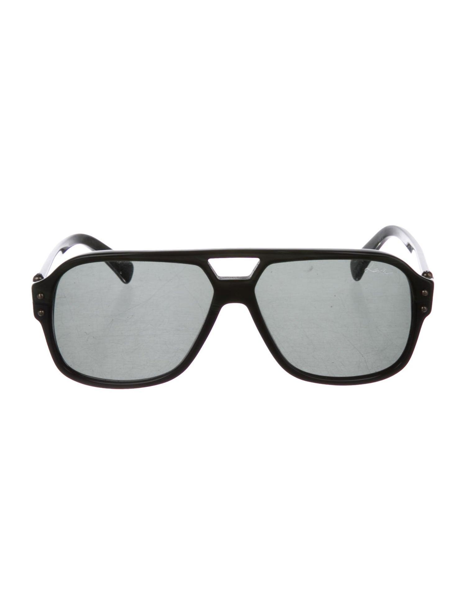 LANVIN PARIS Oversized Unisex Sunglasses SLN507-58-700 Size 58-13-140mm