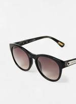 Unisex Aviator Sunglasses with designed frmaes Black