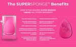 Super Sponge Makeup Applicator Rose