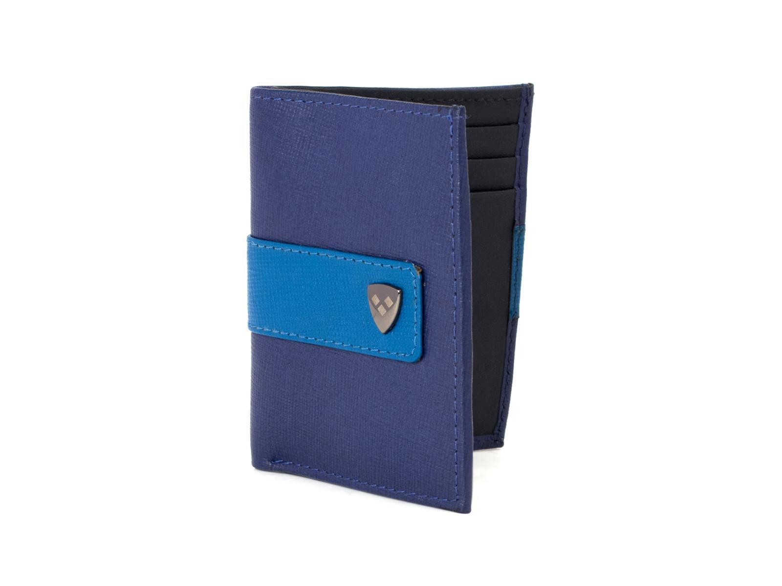 VH CH.1977-BLUE.SAFIANO Wallet