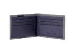 VH MW.1727-BLUE.SAFIANO1 Wallet