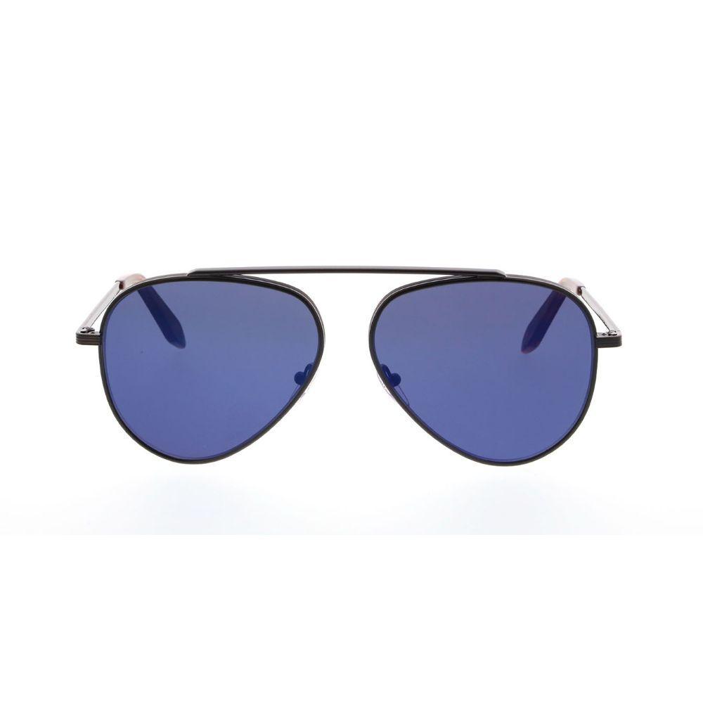 Victoria Beckham Unisex Aviator Black Metal Frame Sunglasses