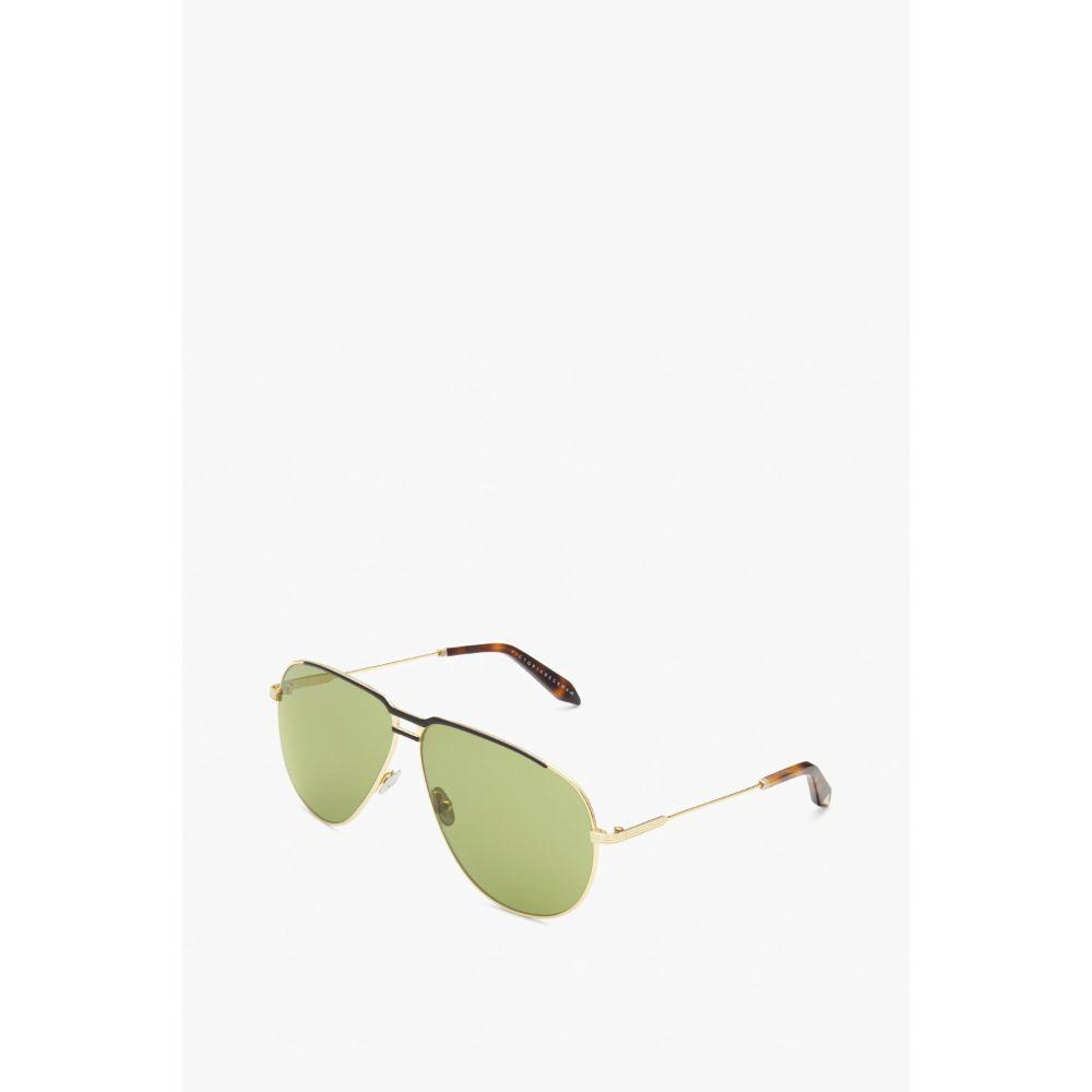 Victoria Beckham Unisex Aviator Unisex Metal Frame Sunglasses