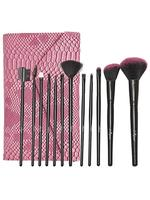 Just Gold 12-Piece Brush Set - Pink JG-9299, Pack of 1