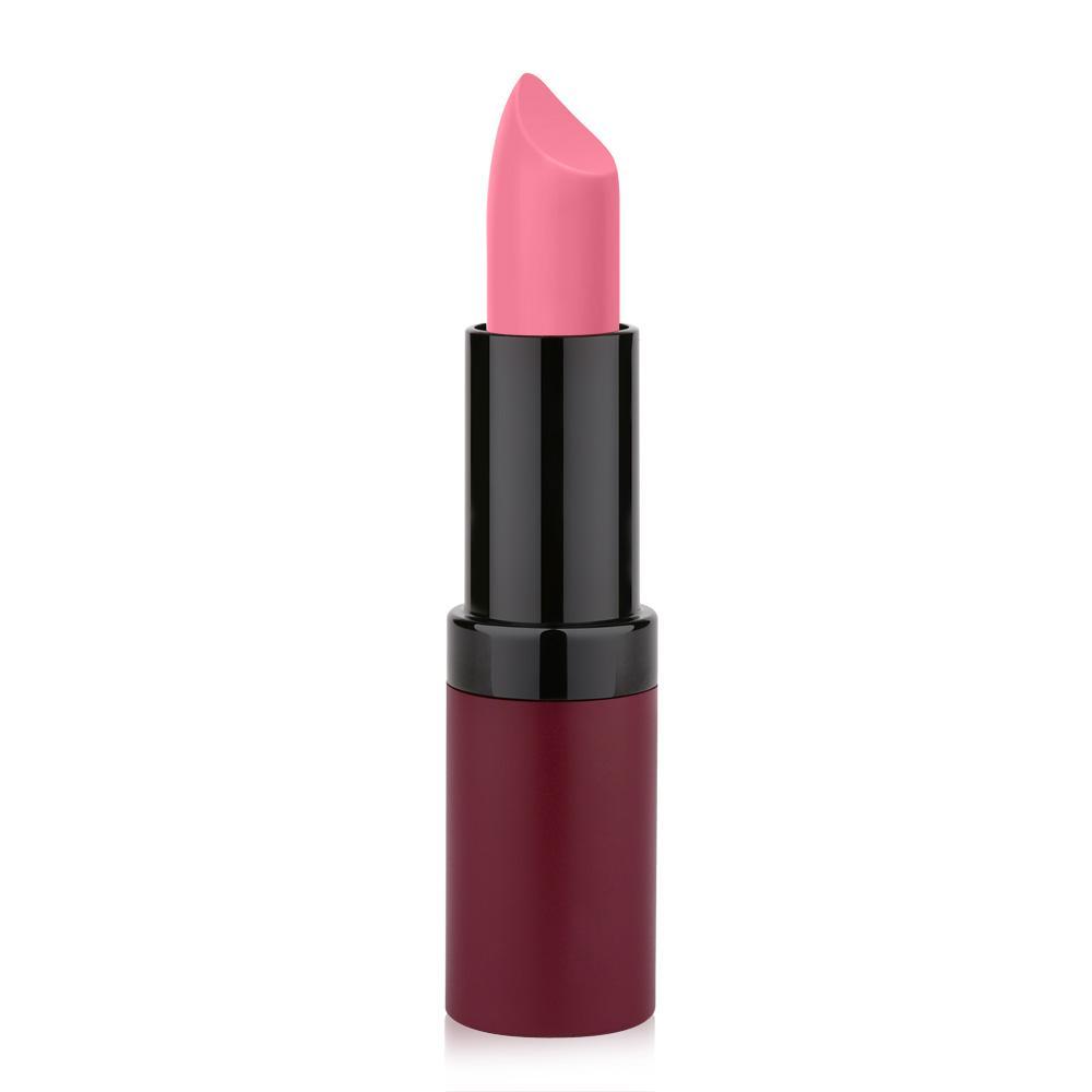 Golden Rose Velvet Matte Lipstick No 09 Rose Pink Color