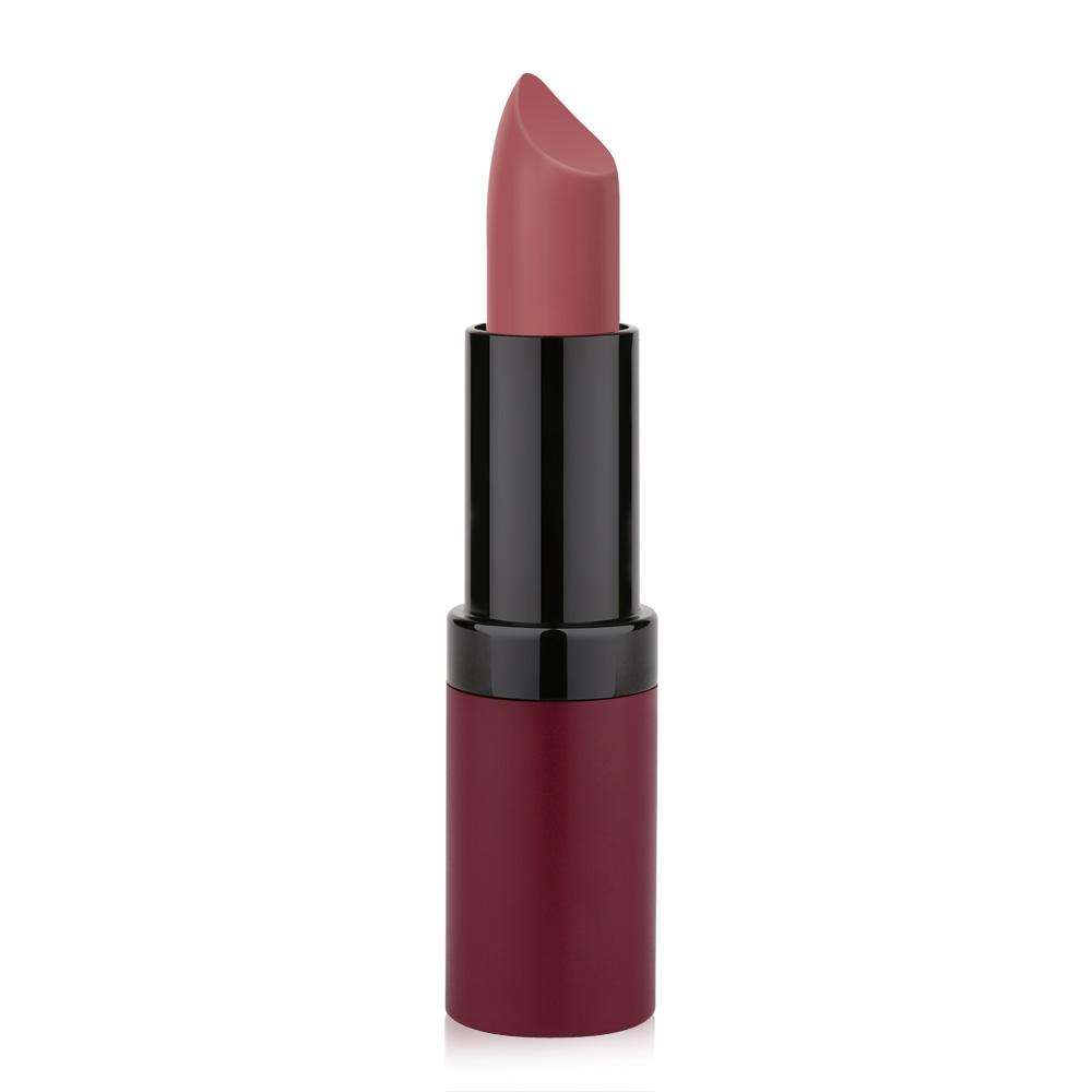 Golden Rose Velvet Matte Lipstick No 16 Rose Nude Pink