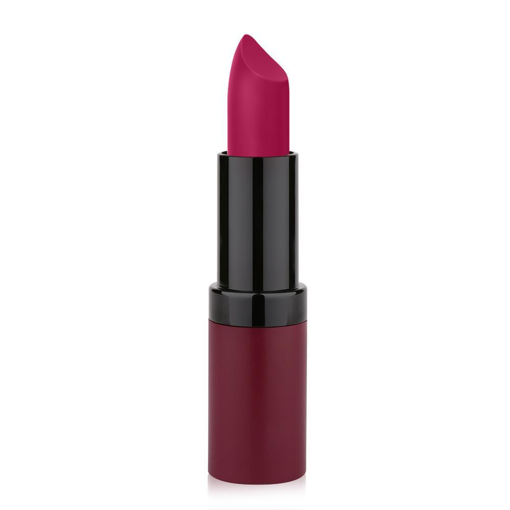 Golden Rose Velvet Matte Lipstick No 19 Rose Red Color