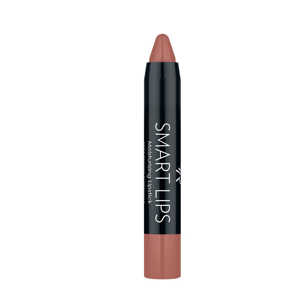 Golden Rose Smart Lips Moisturising Lipstick No 04 Dark Nude Pink