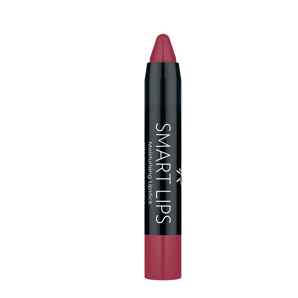 Golden Rose Smart Lips Moisturising Lipstick No 12 Rose Pink Red