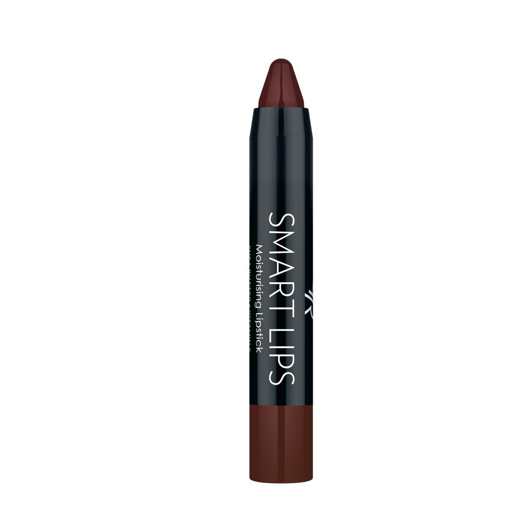 Golden Rose Smart Lips Moisturising Lipstick No 19 Dark Maroon