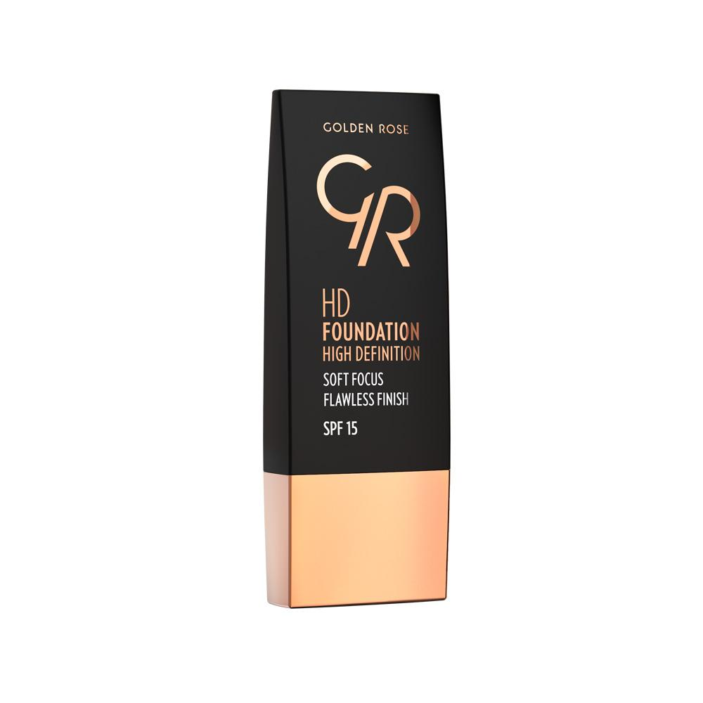 Golden Rose Hd Foundation High Defination No 103 Almond