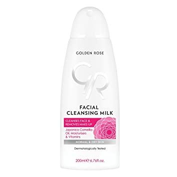 Golden Rose Facial Cleansing Milk Face Clanses With Japonica Camellia Oil &Vitamins