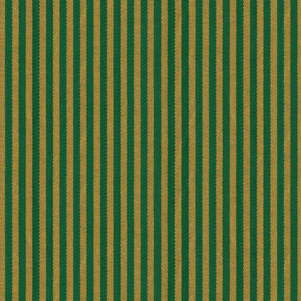 PIN STRIPES GREEN/GOLD
