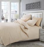 Grain Cream King Size Bedsheet