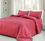 Grain Red King Size Bedsheet