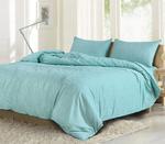Grain Turquoise King Size Bedsheet