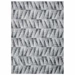 PASSION FLAT WEAVE WOOLEN GREY RUG 80 X 150 CMS