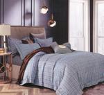 Four Season Check Printed Double Bedsheet Multicolor