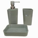 Premium Grey Bathroom Set