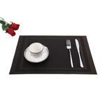 Padova Dark Choco Table Mat 6 Pcs Set