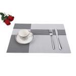 Padova Grey Table Mat 6 Pcs Set