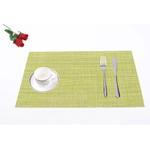 Padova Lemon Green Table Mat 6 Pcs Set