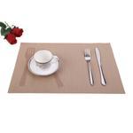 Padova Beige Table Mat 6 Pcs Set