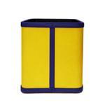 JS Dustbin Texture Yellow
