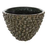 Ceramic pineapple bowl green Home Accessories