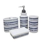 BATH SET 7269-2 GREY