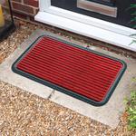 Stripe Red Doormat