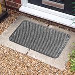 Light Stripe Grey Doormat