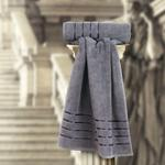 THE ROMAN FACE TOWEL C.GREY