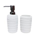 Corda White Bathroom Set
