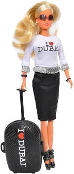 Simba I Love Dubai Doll With Trolley Bag