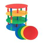 Sb Brik Tower 12 Circles -4 Pk W/30 Stackers -Basic Colors