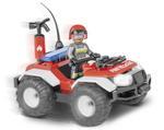Cobi 56 Pcs Action Town 1443 Fire Patrol Vehicle