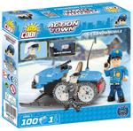Cobi 100 Pcs Action Town 1544 Police Snowmobile