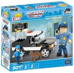 Cobi 90 Pcs Action Town 1572 Police K-9 Unit