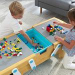 Building Bricks Play N Store Table