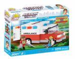 Cobi 200 Pcs Action Town 1765 Doctor Ambulance