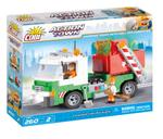 Cobi 260 Pcs Action Town 1781 Garbage Truck With Roll-Off Dumpster