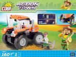 Cobi 160 Pcs Action Town 1861 Tractor